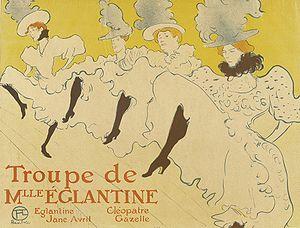 Plakat Henriego Toulouse-Lautreca (1895/6)
