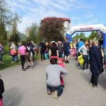 Biegi park Kusocińskiego 03 maja 2015r., bieg najmłodszych