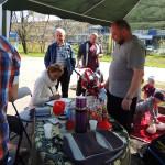 Biegi park Kusocińskiego 03 maja 2015r., badania przesiewowe