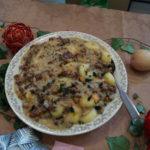 zupa zagraj kluski z twarogiem i cynamonem polane śmietaną kluski śląskie z sosem kurkowym